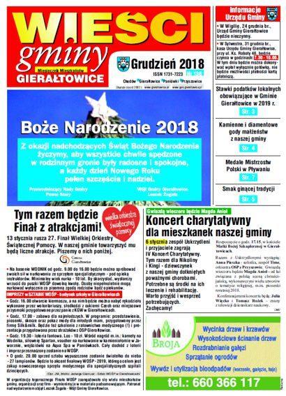 Wieści, Grudzień 2018, Nr 136