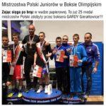 Mistrzostwa Polski Juniorów w Boksie Olimpijskim